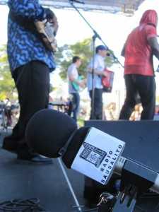 Radio Sausalito broadcast live from Dunphy Park in Sausalito